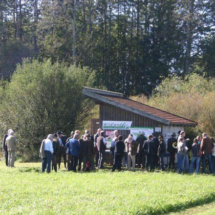 Torfhütte der Wildland-Stiftung Bayern © Wildland-Stiftung Bayern