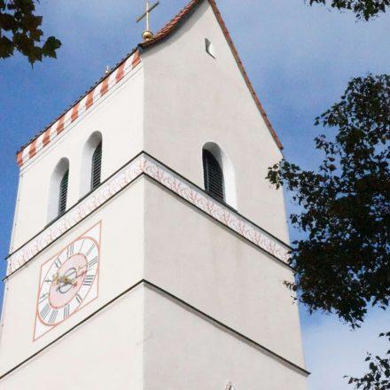 Katholische Kirche St. Jakobus in Feldkirchen©Riedl/Wildland-Stiftung Bayern