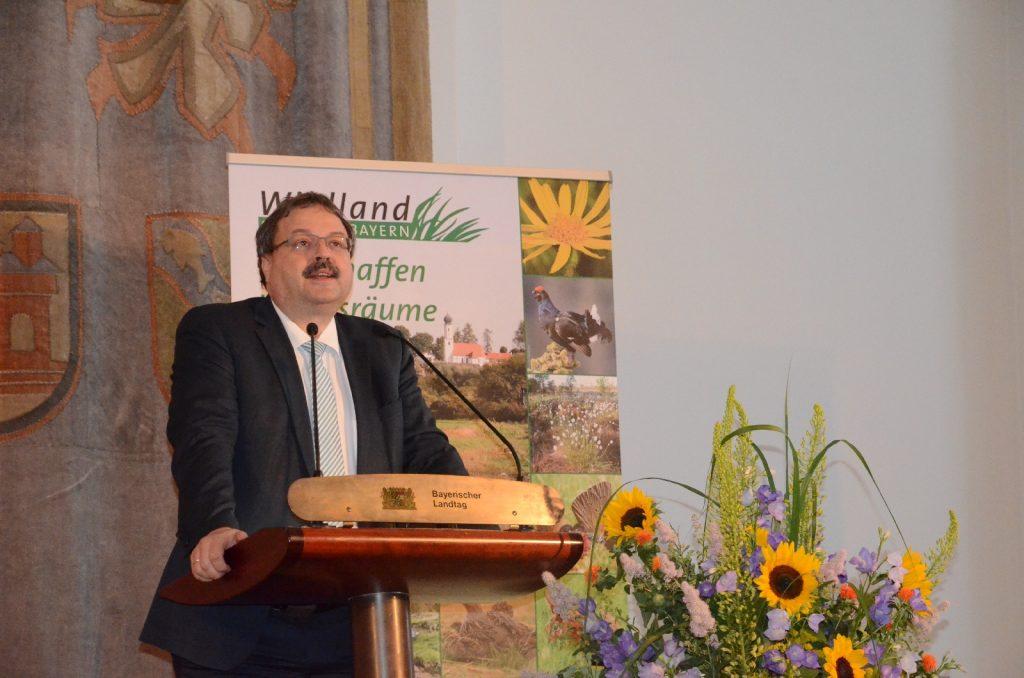 Peter Meyer, MdL, Vizepräsident des Bayerischen Landtags©Wildland-Stiftung Bayern