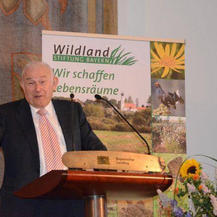 Dr. Günther Beckstein, Ministerpräsident a. D., Vorsitzender des Kuratoriums©Wildland-Stiftung Bayern