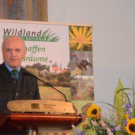 Landrat Thomas Habermann©Wildland-Stiftung Bayern