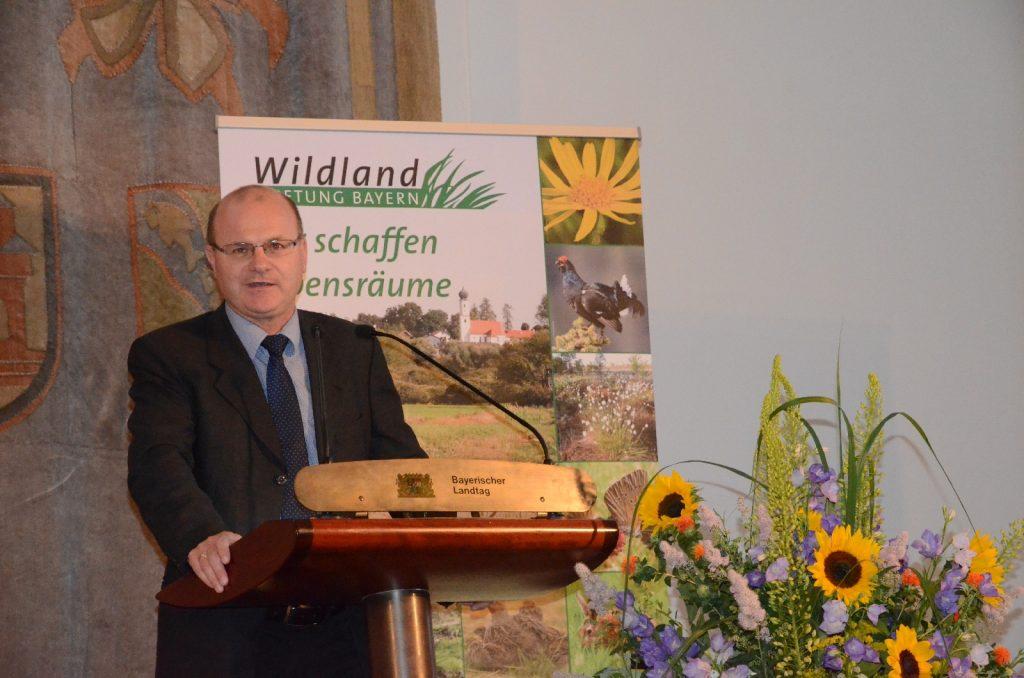 Dr. Norbert Schäffer, Vorsitzender des Landesbunds für Vogelschutz©Wildland-Stiftung Bayern