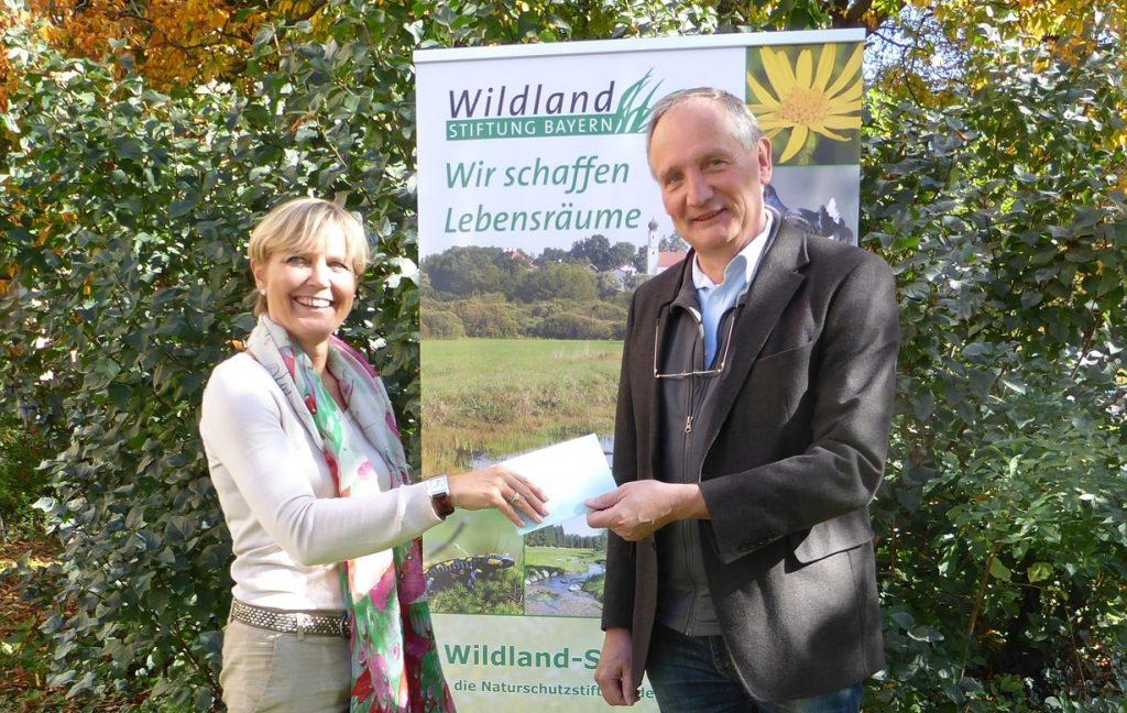 Spendenübergabe©Wildland-Stiftung Bayern