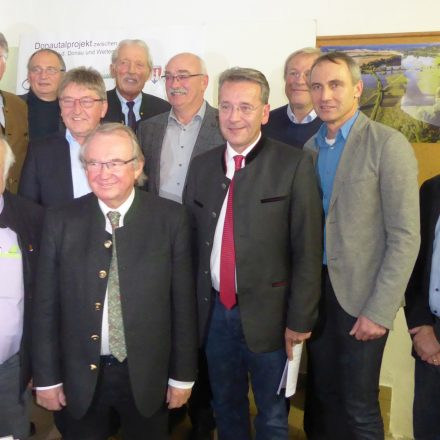 Mitglieder der Trägergemeinschaft Donautal-Projekt©Wildland-Stiftung Bayern