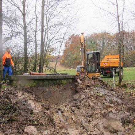 Sanierung der Brühl-Quelle©Markt Oberthulba