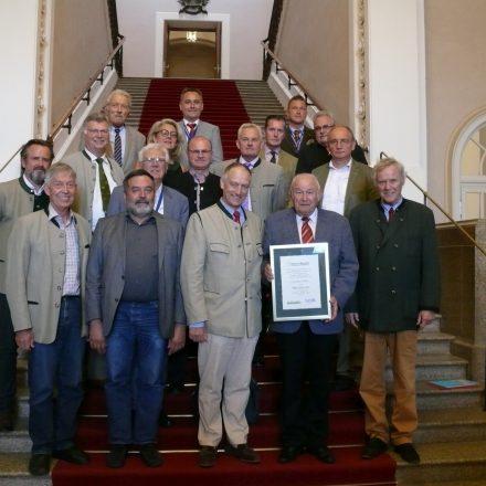 Mitglieder des Kuratoriums, des Stiftungsrats und Stiftungsvorstands im Bayerischen Landtag©Wildland-Stiftung Bayern