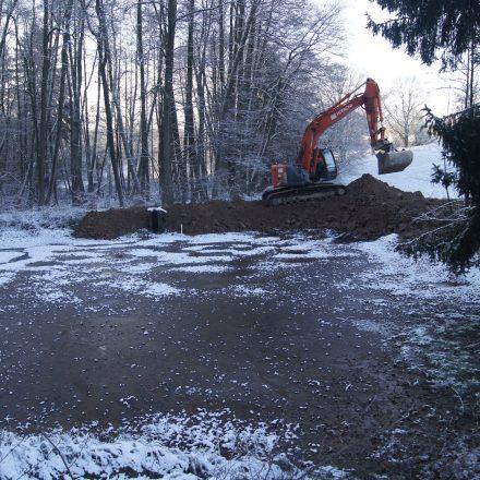 Umbaumaßnahmen©P. Fröhlich, BJV Amberg