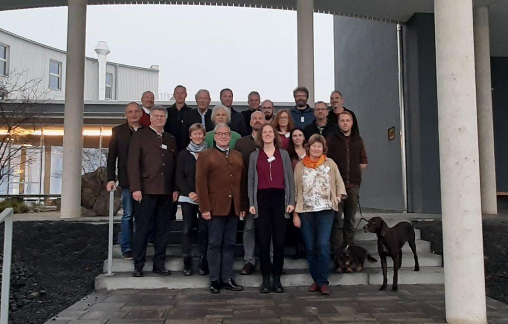 Teilnehmer beim Workshop in Oberelsbach@Wildland-Stiftung Bayern
